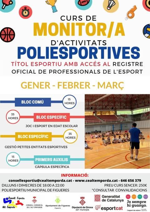Curs de Monitor/a d'Activitats Poliesportives 2021