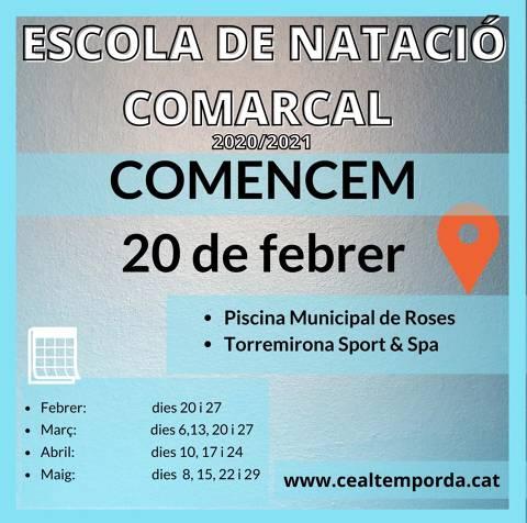 ESCOLA DE NATACIÓ COMARCAL 2020-2021