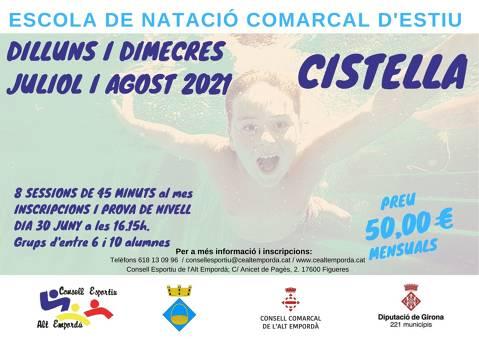 ESCOLA DE NATACIÓ COMARCAL D'ESTIU 2021